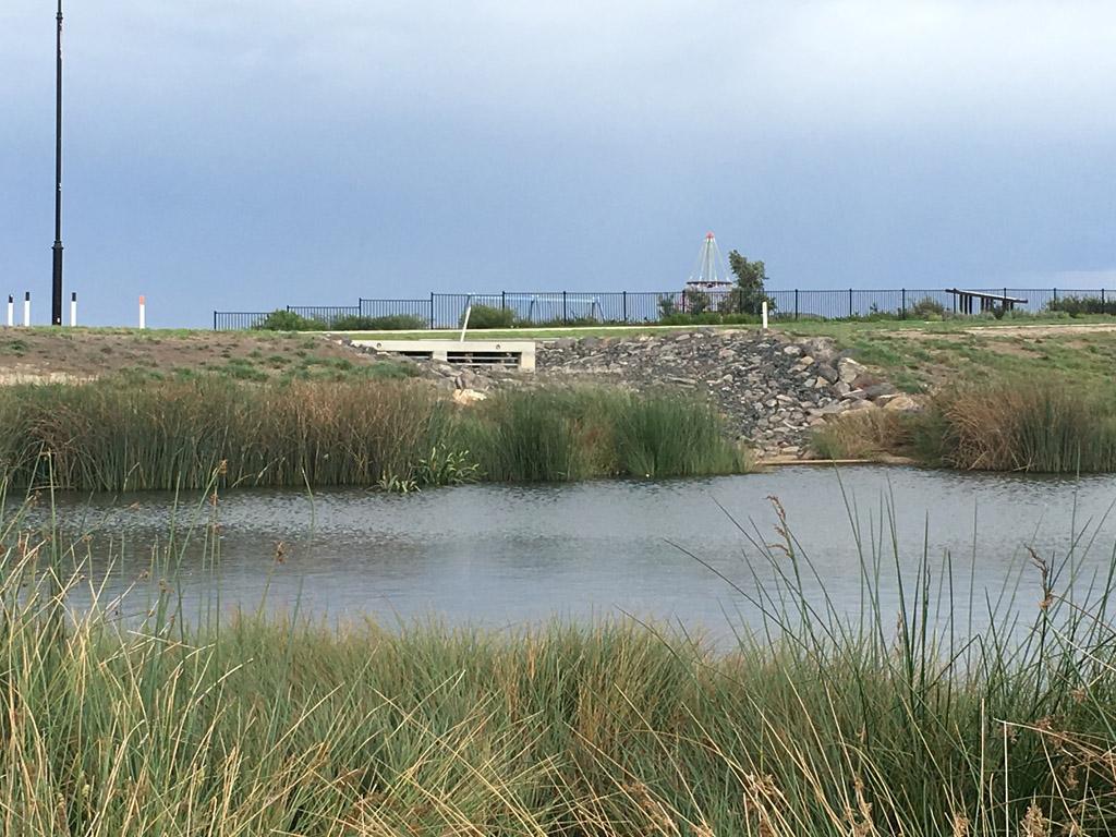 Dams and basins